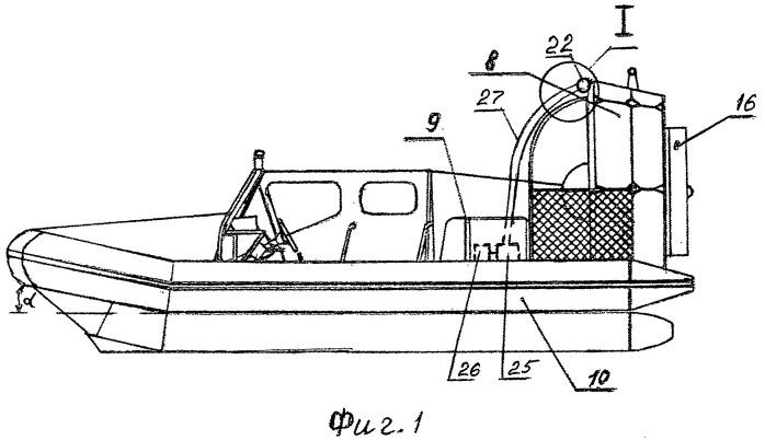 Способ увеличения тяги для судов на воздушной подушке и летательных аппаратов