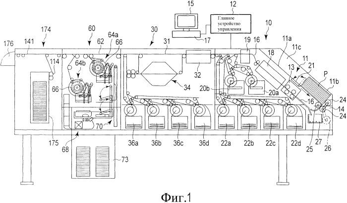 Аппарат для обработки бумажных листов
