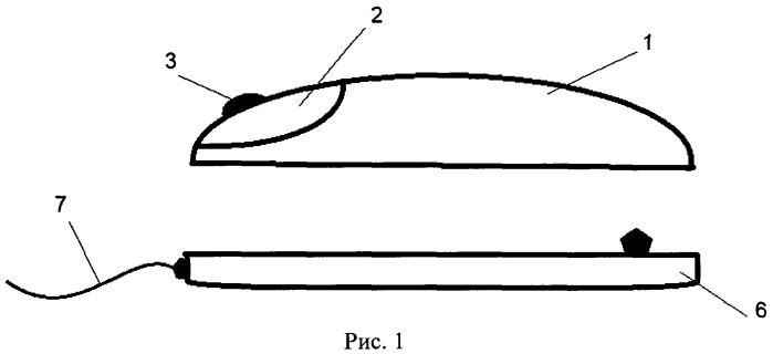 Лазерная беспроводная компьютерная мышь