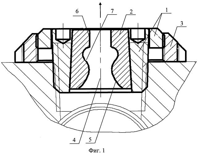 Струйная насадка для гидропескоструйного перфоратора