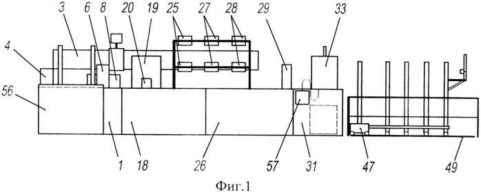 Станок для производства труб из армированных пластмасс