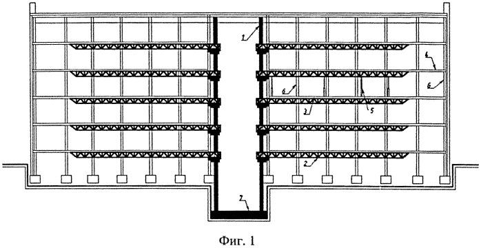 Способ реконструкции здания или сооружения