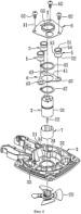 Амортизационная система подвеса двигателя в газодинамическом устройстве и газодинамическое устройство