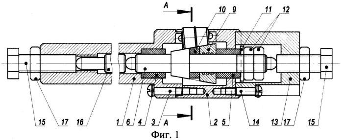 Устройство для деформационного упрочнения внутренней поверхности полых осесимметричных заготовок