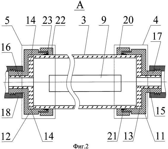 Установка для обработки нанокомпозитов в водородной плазме