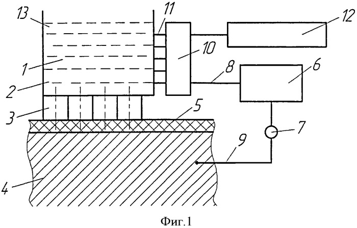 Устройство для электрохимического маркирования поверхности металлической детали под упругим диэлектрическим покрытием и способ с его применением