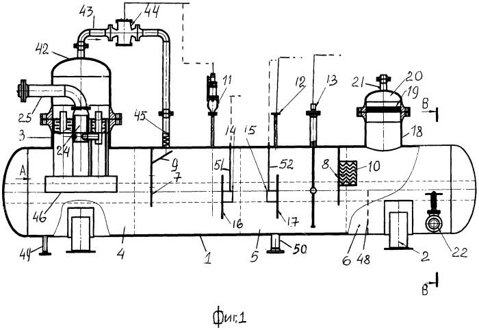Газожидкостный сепаратор