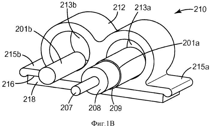 Кабельная система с адгезивным покрытием для беспроводных приложений внутри здания