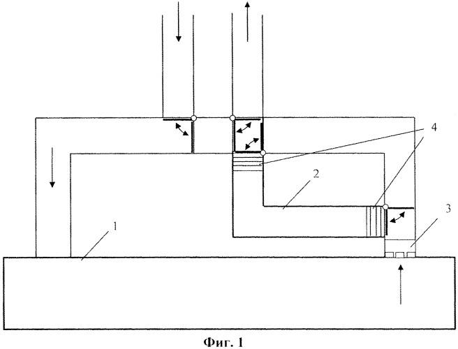 Устройство фильтрации воздуха от радиоактивных примесей