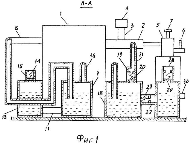 Система питания двигателя от газобаллонной установки