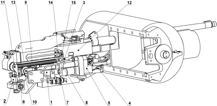 Механизм перезарядки стрелкового оружия