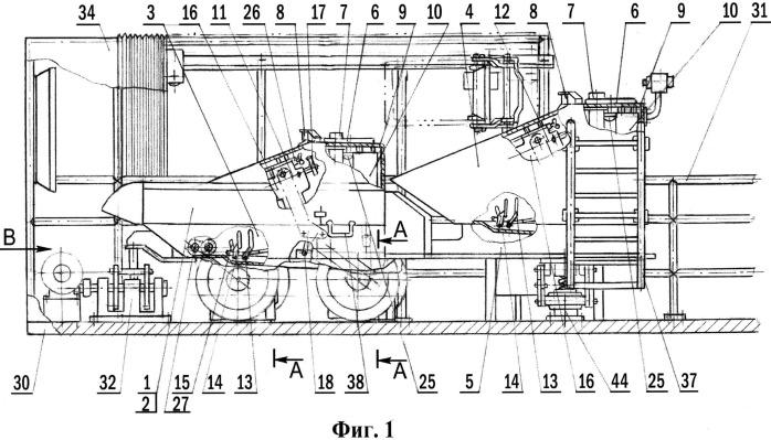 Тренажер для обучения вождению военных гусеничных машин с рулевым управлением