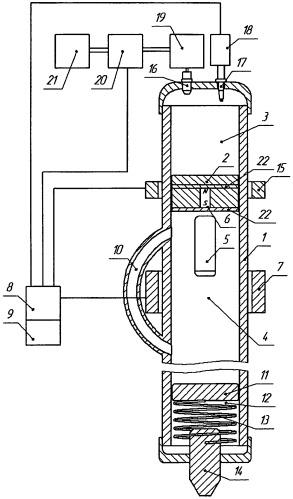 Двигатель внутреннего сгорания для инструментов ударного действия