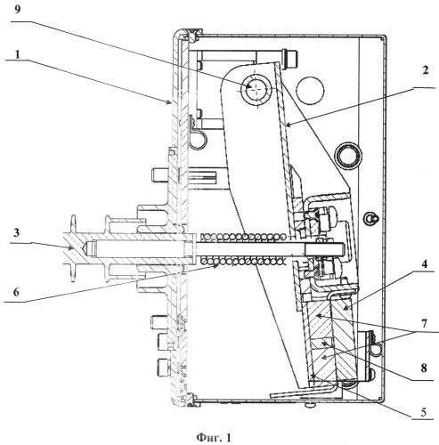 Вакуумный выключатель с трехкомпонентным приводом