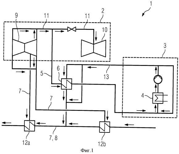 Паротурбинная установка с узлом паровой турбины и потребителем технологического пара и способ ее эксплуатации