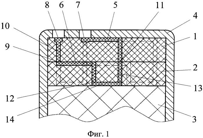 Детонационное логическое устройство для формирования взрывной волны