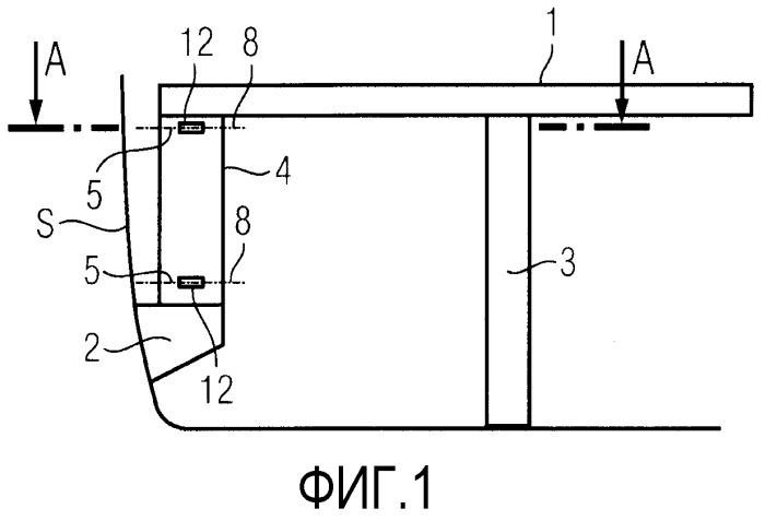 Устройство для соединения стола с боковой стенкой транспортного средства