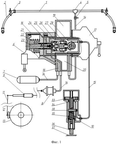 Тормозная система железнодорожного транспортного средства