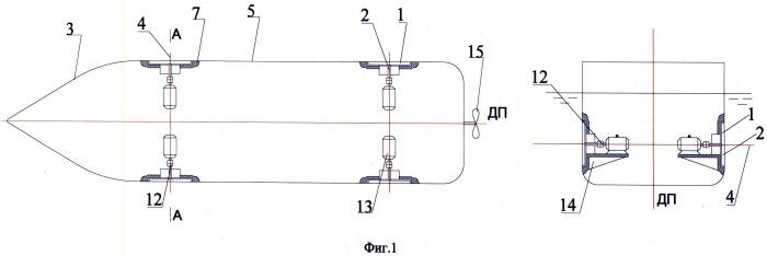 Подруливающее устройство судна