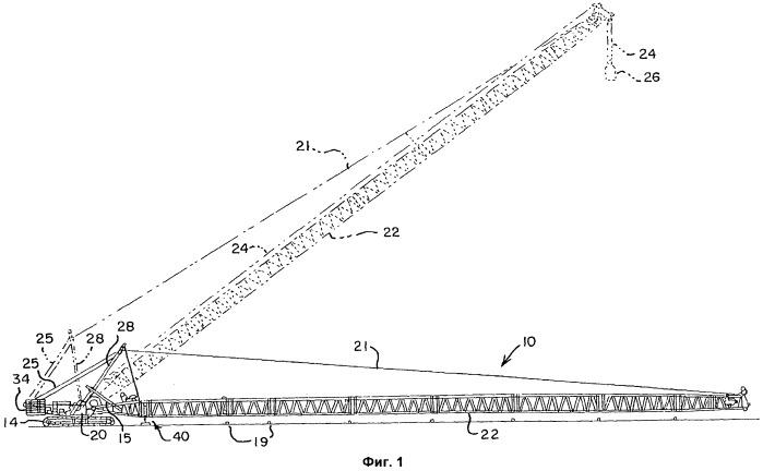 Подъемный кран (варианты) и способ его наладки