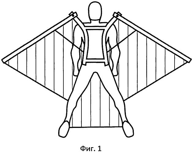Крылья для парашютиста. вингэм. wing-m.