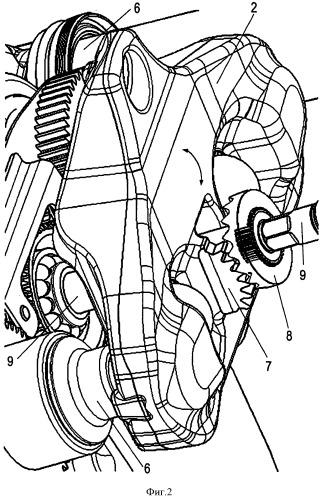 Пневматически или электромеханически управляемый дисковый тормозной механизм