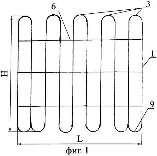 Способ изготовления сетки плоской проволочной, сетка плоская проволочная