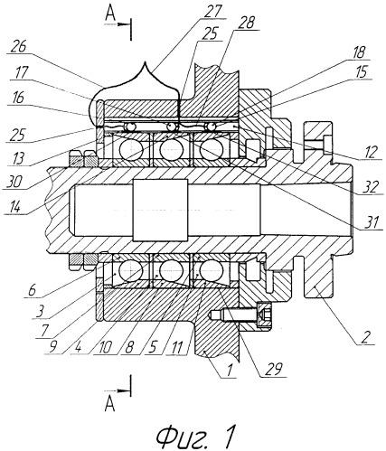 Способ компенсации упругих тепловых деформаций подшипников шпинделей металлообрабатывающих станков и устройство для его реализации