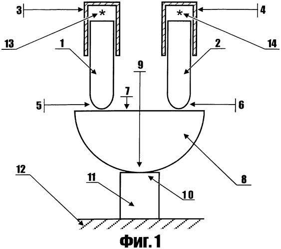 Поршень-забойник для многоствольных строительных артиллерийских орудий