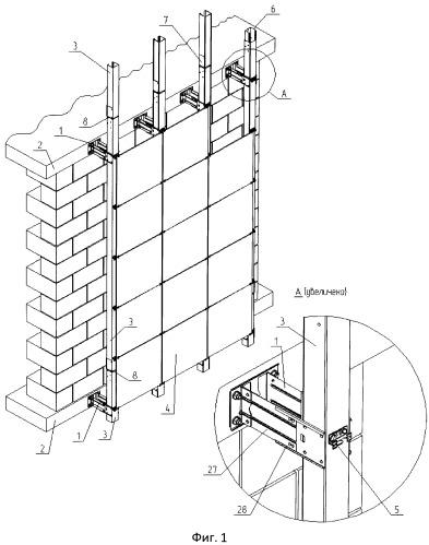 Навесная фасадная система