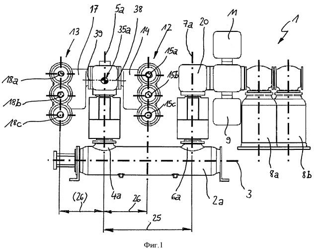 Распределительное устройство с газовой изоляцией