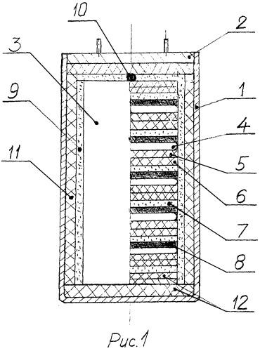 Миниатюрный тепловой литиевый источник тока