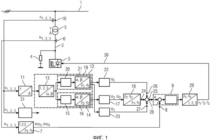 Способ регулирования преобразователей тока и устройство для осуществления способа