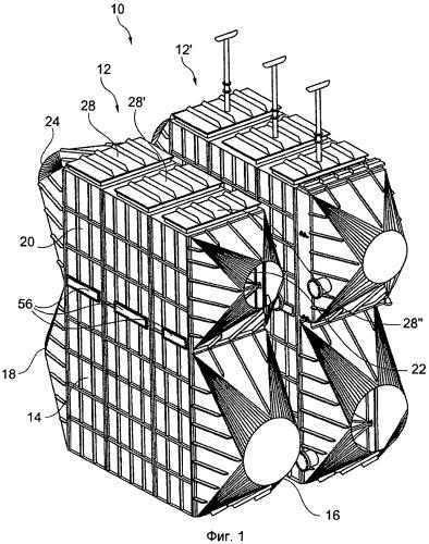 Модульный теплообменник с тепловыми трубами