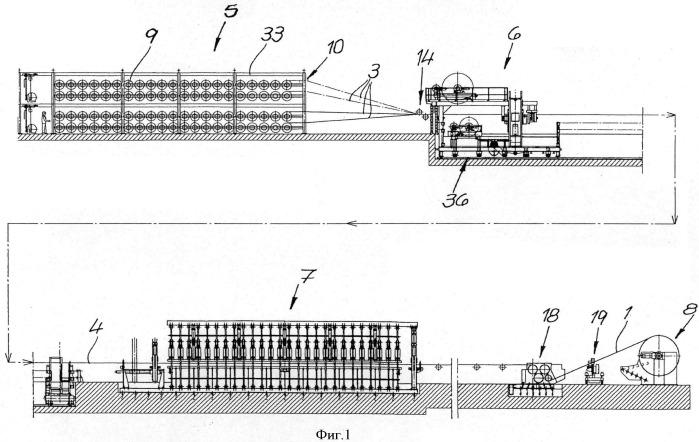 Устройство и способ изготовления ленточных конвейеров со стальным тросом, имеющим сердечник