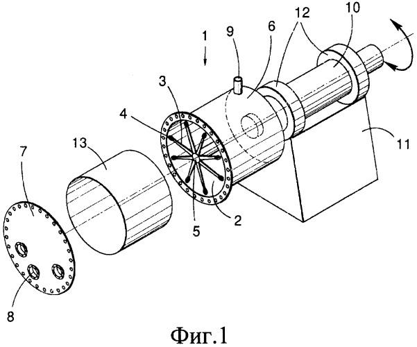 Реактор, включающий ротор