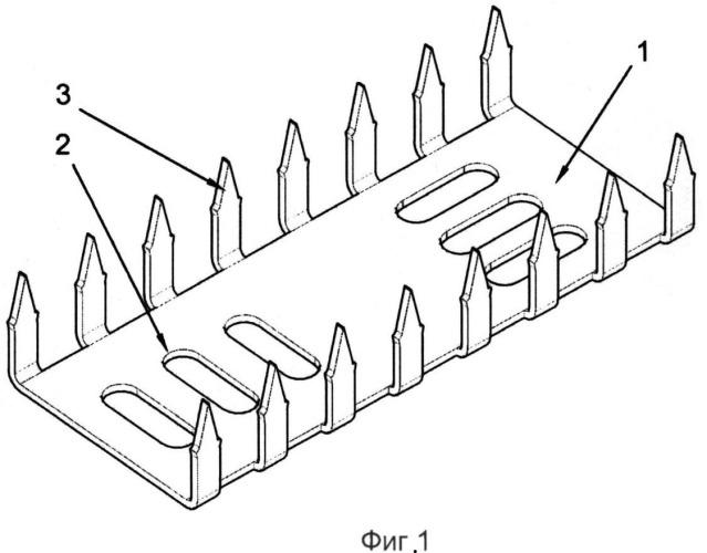 Способ крепления архитектурных элементов из пенополистирола с использованием вспомогательного устройства для крепежа