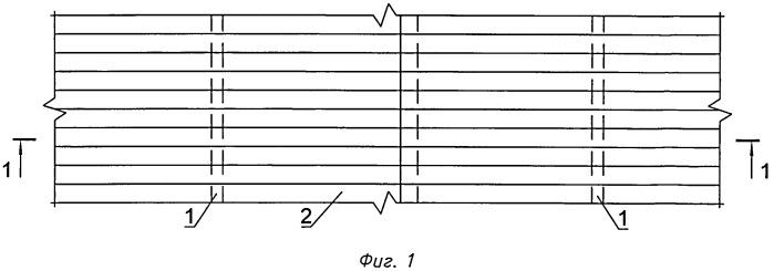 Способ соединения консольных участков листов профилированного настила