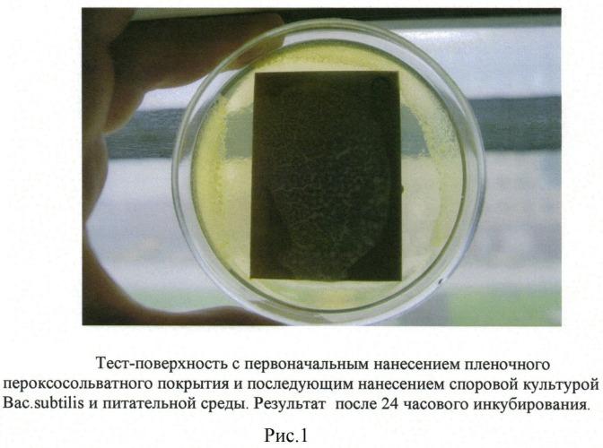 Состав полимерной деконтаминирующей (дезинфицирующей) рецептуры на основе пероксосольвата фторида калия для получения прочных и малопроницаемых пленок, защищающих и деконтаминирующих поверхности в гермозамкнутых объемах различных объектов