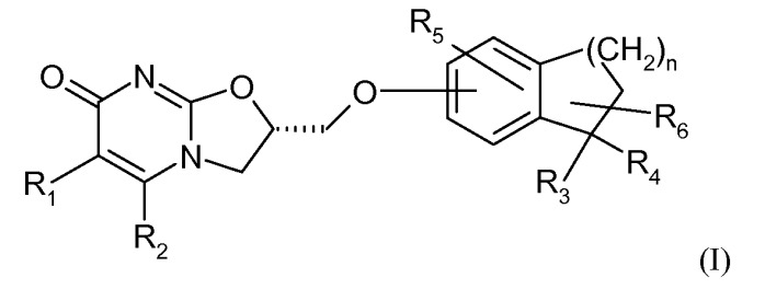 Замещенные дигидро бензоциклоалкилоксиметил оксазолопиримидиноны, их получение и применение