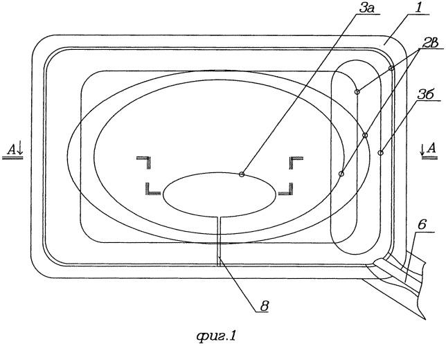 Многопрофильное зеркало с регулируемыми отношением прямолинейной и криволинейной отражательных поверхностей и кривизной криволинейных отражательных поверхностей (рабочее название - аргус)