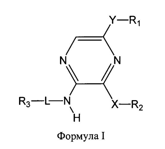 Пиразины для использования в качестве модуляторов дельта-опиоидных рецепторов