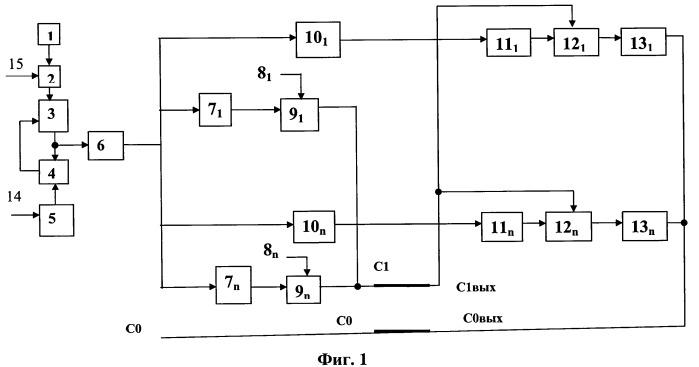 Устройство передачи n-фазной системы напряжений по двухпроводной сети
