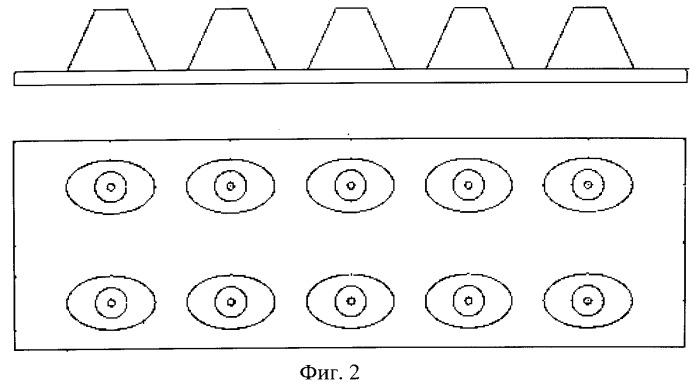 Оптическая система вторичной светодиодной оптики