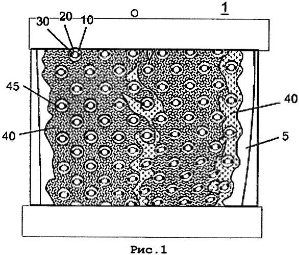 Решетчатое укрепление роликового пресса, покрытого защитной оболочкой, с кольцевыми втулками в отверстиях