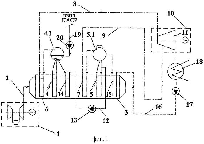 Способ организации водно-химического режима на основе комплексного аминосодержащего реагента для пароводяного тракта энергоблока с парогазовыми установками