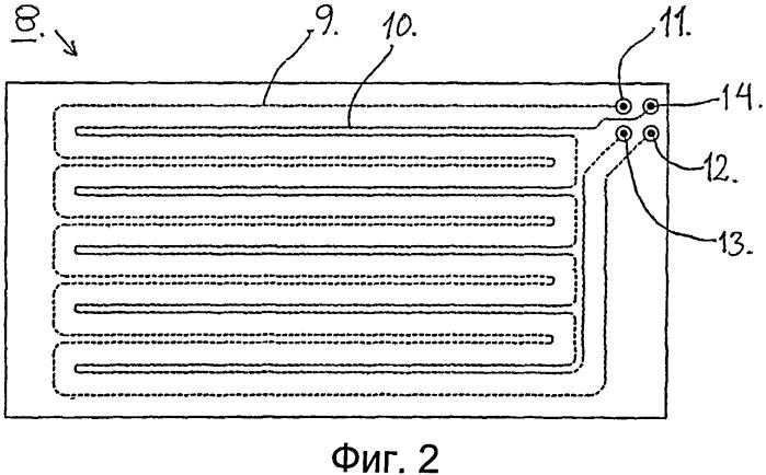 Электродное устройство для мониторинга состояния постели