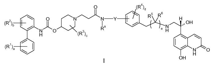 Диамидные соединения, обладающие активностью антагониста мускаринового рецептора и активностью агониста в2 адренергического рецептора