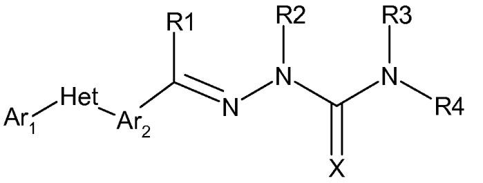 Молекула, пестицидная композиция на ее основе (варианты) и способ применения молекулы (варианты)