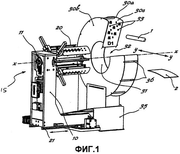 Способ и устройство для намотки труб в бухту и для обертывания полученной бухты